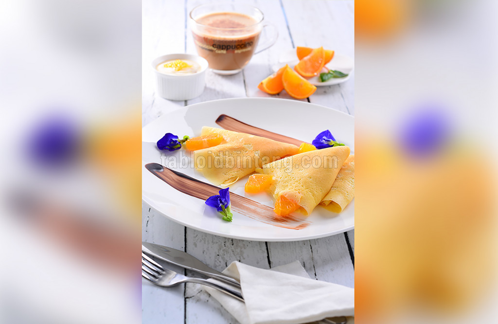 Resep Crepes Sunset