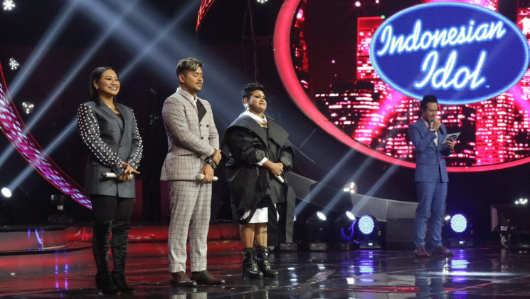 Wah, Maria - Abdul Melaju ke Grand Final Indonesian Idol 2018, Joan Tersingkir