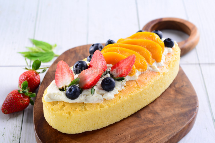 Resep Fruit Cheesecake