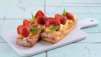 Resep Pastry Vla Strawberry