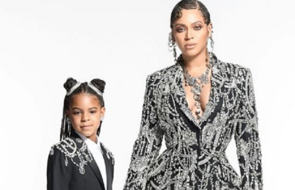Blue Ivy Carter telah memenangi Ashford & Simpson Songwriter's Award dalam BET Soul Train Awards 2019. (Instagram)