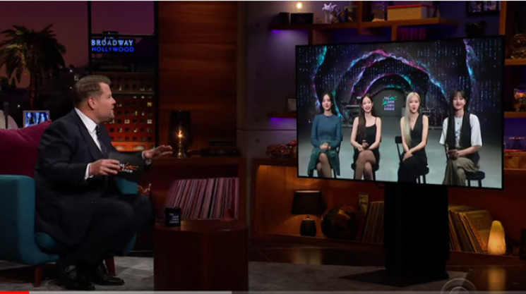 Jelang Konser Virtual, Blackpink Muncul di The Late Late Show With James Corden