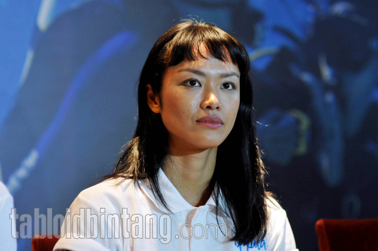 Kelly Tandiono ikut bermain di film Susi Susanti: Love All. (Seno/tabloidbintang.com)