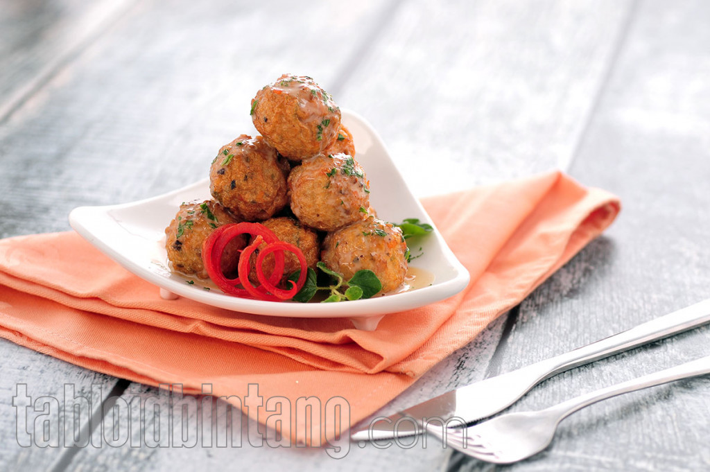 Resep Cheesy Chicken Ball