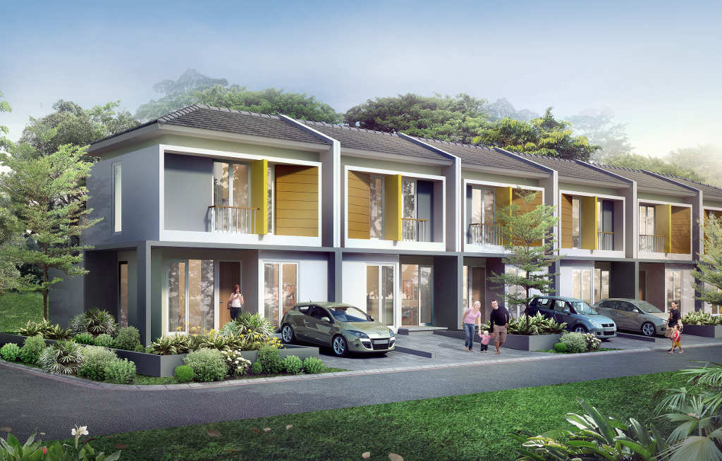Cluster Green Victoria CitraLake Sawangan, Green Lifestyle Home