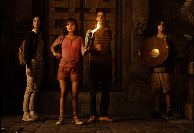 Adegan film Dora and the Lost City of Gold