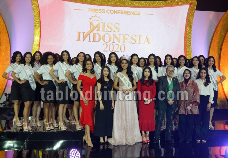 Konferensi Pers Miss Indonesia 2020