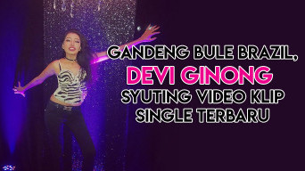 Gandeng Bule Brazil, Devi Ginong Syuting Video Klip Single Terbaru