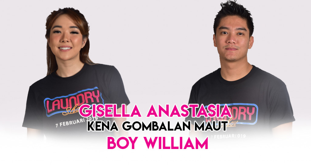 Gisella Anastasia Kena Gombalan Maut Boy William