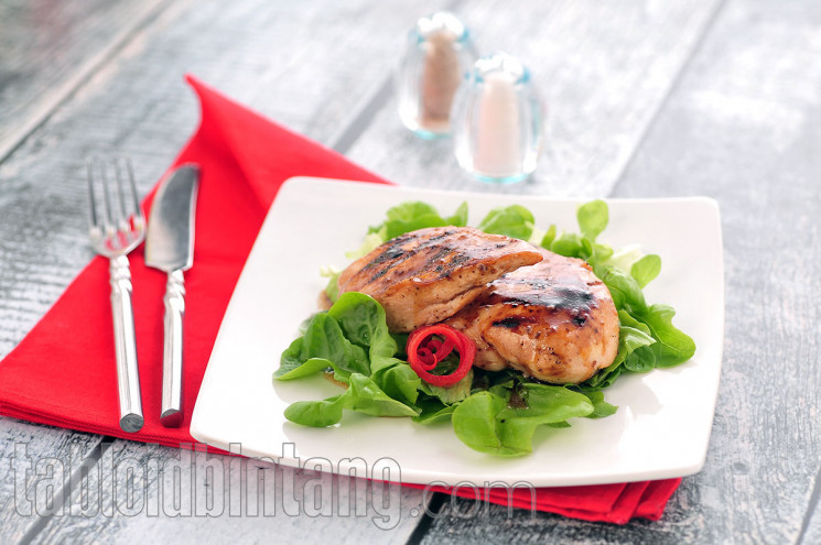 Resep Grilled Honey Lime Chicken