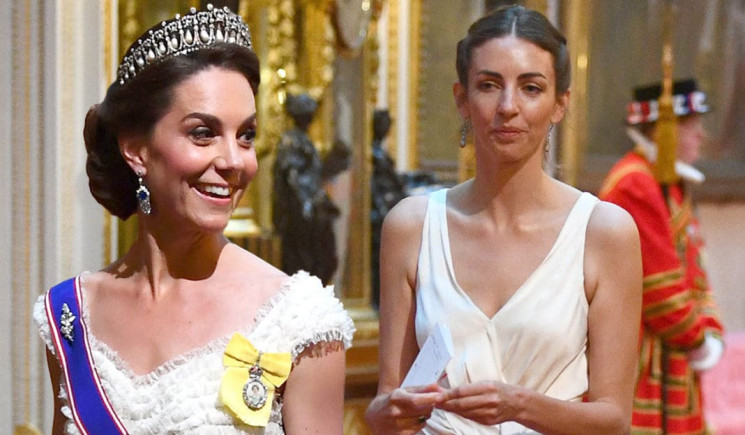Kate Middleton dan Rose Hanbury (Extra.ie)