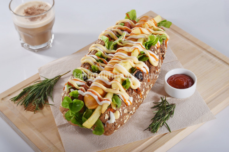 Resep Long Sandwich Sosis
