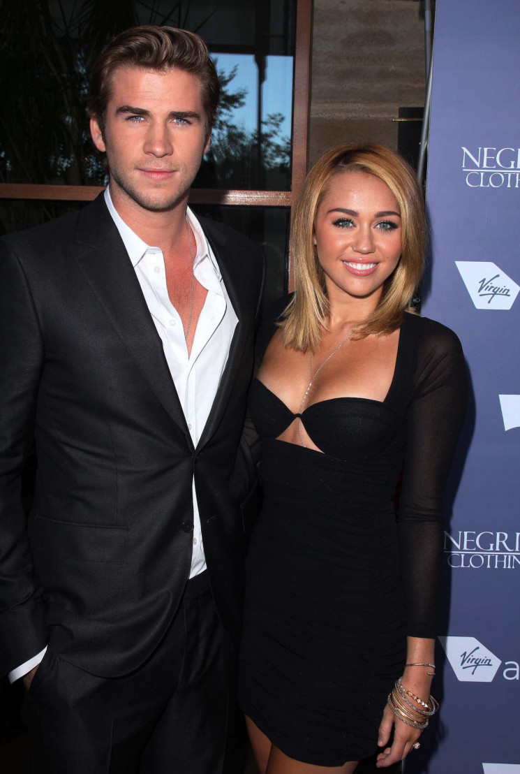 Miley Cyrus dan Liam Hemsworth (Deposit Photos)