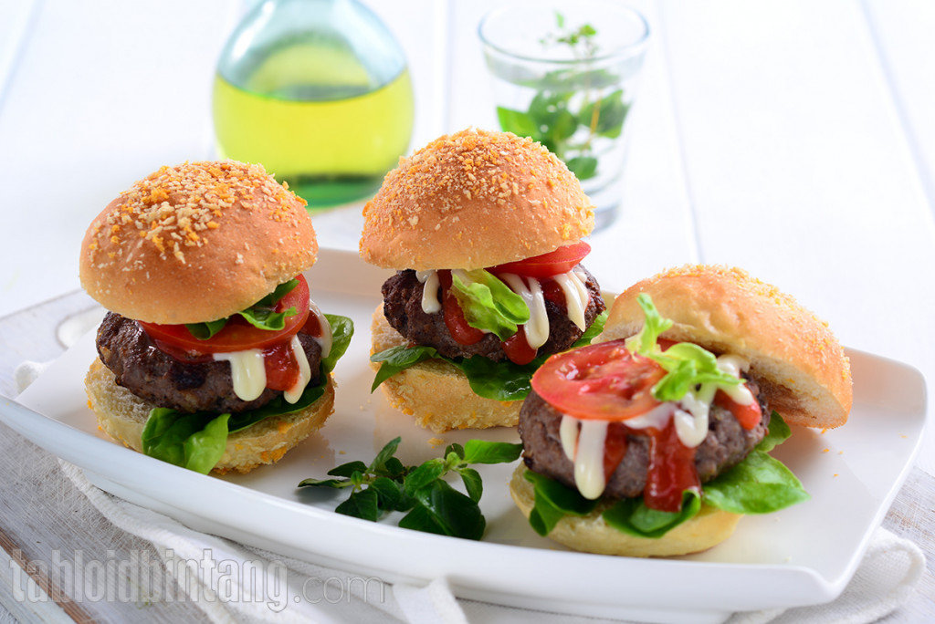 Resep Beef Burger Mini