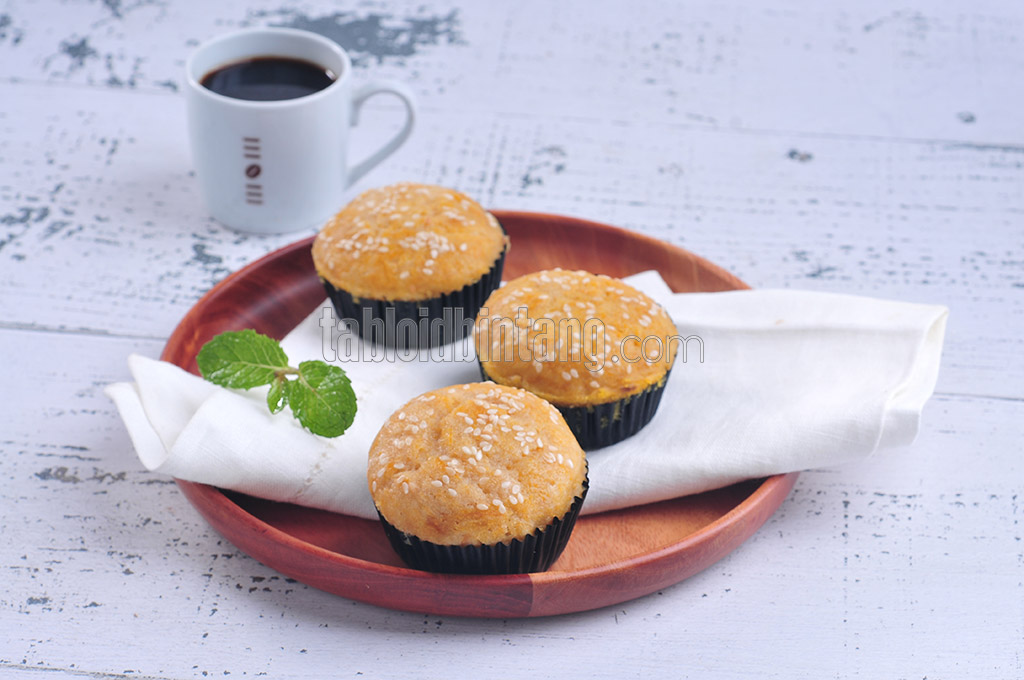 Resep Pumpkin Cheese Muffin