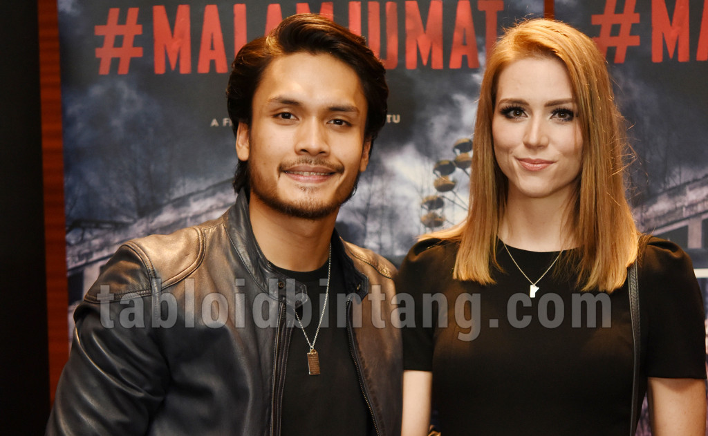Randy Pangalila Ajak Istrinya Chelsey Frank Ke Premier #MalamJumat The Movie