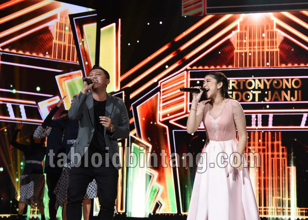 Tiara Feat Denny Caknan Di Grand Final Indonesian Idol