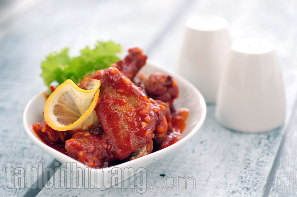 Resep Spicy Chicken Wings