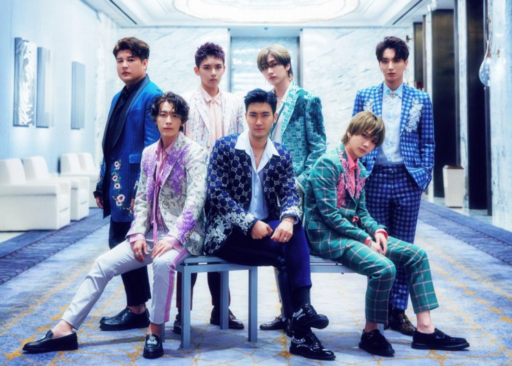 Super Junior Rayakan HUT ke-13 dengan Merilis Album Mini One More Time (dok. Kpopchart)