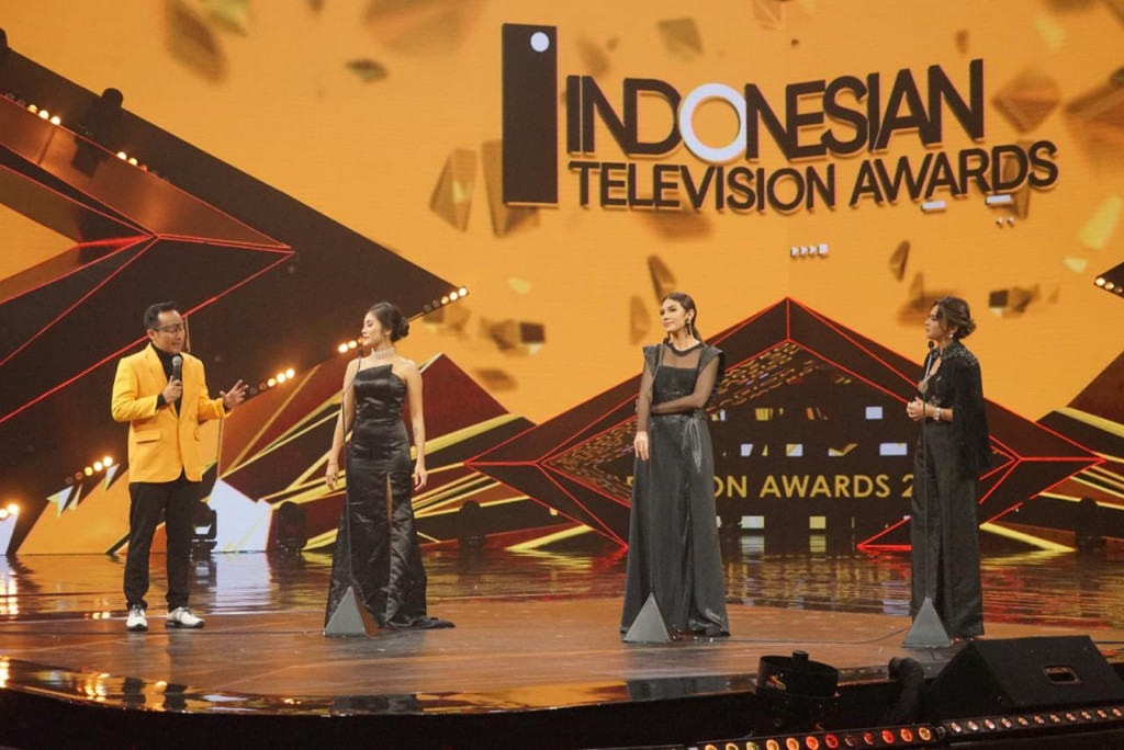 Foto : Malam Puncak Indonesian Television Awards 2020